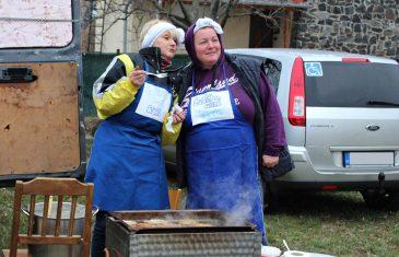 Forralt bort főztek, tócsit sütöttek Diszelben