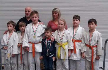 Judo érmek a regionális rangsor versenyről