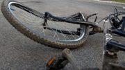 kerékpárost gázolt kép