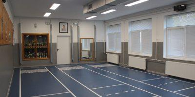Megújult a terem burkolata, új találatjelzőket és légkondicionálót szereltek fel fotó:hg